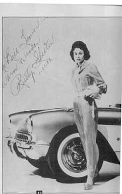 BETTY SKELTON FRANKMAN Indian River Corvette Club Member